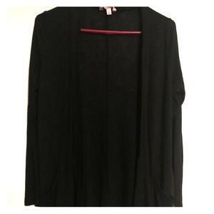 Like new black cardigan